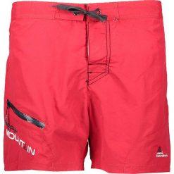 """Szorty kąpielowe """"Cawai"""" w kolorze czerwonym. Czerwone szorty męskie marki Peak Mountain. W wyprzedaży za 43,95 zł."""