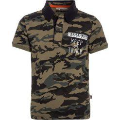 Napapijri EGUF FANTASY Koszulka polo khaki. Szare bluzki dziewczęce bawełniane marki Napapijri, l, z kapturem. Za 249,00 zł.