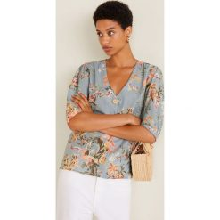 Mango - Bluzka Goldy. Czarne bluzki wizytowe marki bonprix, eleganckie. Za 139,90 zł.