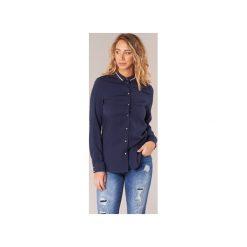Koszule Guess  CEHACHEU. Niebieskie koszule nocne i halki Guess, s, z aplikacjami. Za 207,20 zł.
