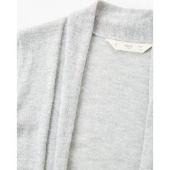 Mango Kids - Kardigan dziecięcy Kim2 110-164 cm. Szare swetry dziewczęce Mango Kids, z bawełny. W wyprzedaży za 39,90 zł.