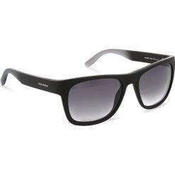 Okulary przeciwsłoneczne BOSS - 0249/S Black Grey PZP. Czarne okulary przeciwsłoneczne męskie aviatory Boss, z tworzywa sztucznego. W wyprzedaży za 429,00 zł.
