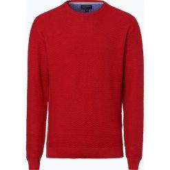 Swetry męskie: Nils Sundström - Sweter męski, czerwony