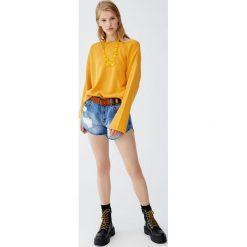 Sweter typu multiway. Szare swetry klasyczne damskie Pull&Bear. Za 48,90 zł.