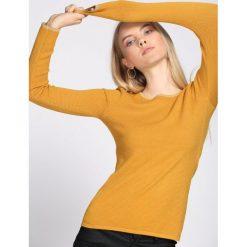 Żółty Sweter Second-Class. Żółte swetry klasyczne damskie Born2be, l. Za 49,99 zł.