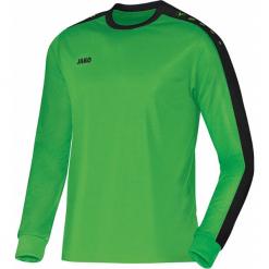 Bluzki sportowe damskie: Jako Striker długi rękaw Koszulka – mężczyźni – soft zielony / czarny _ s
