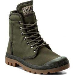 Trapery PALLADIUM - Pampa Solid Ranger Tp 75564-368-M Army Green/Beluga. Zielone buty zimowe damskie marki Palladium, z materiału. W wyprzedaży za 309,00 zł.