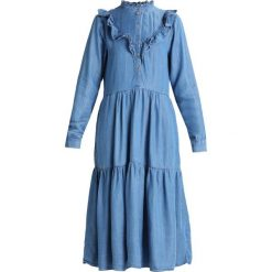 Sukienki hiszpanki: Soft Rebels KRISH DRESS Sukienka jeansowa light blue
