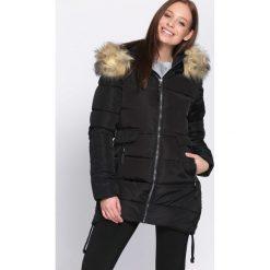 Czarno-Beżowa Kurtka Skill Of Loving. Brązowe kurtki damskie pikowane marki QUECHUA, na zimę, m, z materiału. Za 169,99 zł.