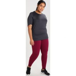 Topy sportowe damskie: Raiski MILLY Tshirt basic dark grey