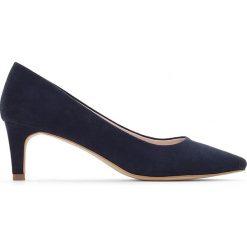 Buty ślubne damskie: Czółenka na średnim obcasie
