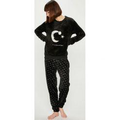 Answear - Piżama. Czarne piżamy damskie ANSWEAR, l, z dzianiny. Za 149,90 zł.