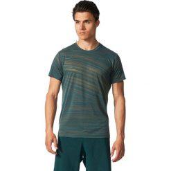 Adidas Koszulka męska Freelift Aero zielona r. XL (BR4169). Zielone t-shirty męskie Adidas, m. Za 129,90 zł.