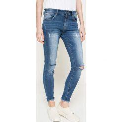 Answear - Jeansy By the way. Niebieskie jeansy damskie rurki marki Sinsay, z podwyższonym stanem. W wyprzedaży za 79,90 zł.