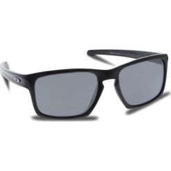 Okulary przeciwsłoneczne OAKLEY - Sliver OO9262-04 Polished Black/Black Iridium. Czarne okulary przeciwsłoneczne męskie aviatory Oakley, z tworzywa sztucznego. W wyprzedaży za 449,00 zł.