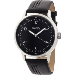 """Zegarki męskie: Zegarek kwarcowy """"the 5700"""" w kolorze czarno-srebrnym"""