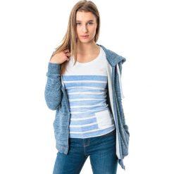 4f Bluza damska H4L18-BLD006 niebieska r. S. Niebieskie bluzy sportowe damskie marki 4f, l. Za 103,50 zł.