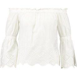 Bluzki asymetryczne: Noisy May NMFEMI 3/4 OFF SHOULDER  Bluzka bright white