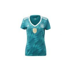 T-shirty z krótkim rękawem adidas  Koszulka wyjazdowa reprezentacji Niemiec. Zielone t-shirty damskie Adidas, l. Za 169,00 zł.