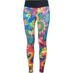 Spodnie damskie: Feeljoy  Legginsy damskie Surreal Long wielokolorowe r. L