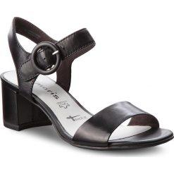 Rzymianki damskie: Sandały TAMARIS – 1-28324-20 Black Leather 003
