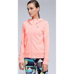 Bluzy rozpinane damskie: Bluza treningowa damska BLDF002 - koral