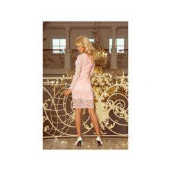 Sukienki hiszpanki: SUKIENKA KORONKOWA PUDROWA UWODZICIELSKA CIRRY