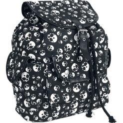 Full Volume by EMP Curly's Backpack Plecak czarny. Czarne plecaki damskie Full Volume by EMP, z nadrukiem. Za 99,90 zł.
