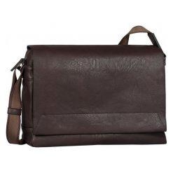 Tom Tailor Torba Męska Gordon Brązowy. Brązowe torby na ramię męskie marki Kazar, ze skóry, przez ramię, małe. Za 300,00 zł.
