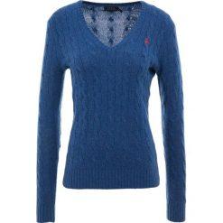 Polo Ralph Lauren KIMBERLY  Sweter new blue heather. Niebieskie swetry klasyczne damskie Polo Ralph Lauren, s, z kaszmiru, polo. Za 629,00 zł.