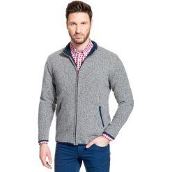 Sweter TOMASSO SWPR000125. Niebieskie swetry rozpinane męskie Giacomo Conti, na jesień, m, z wełny. Za 229,00 zł.