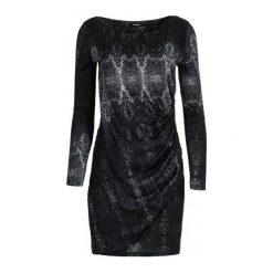 Desigual Sukienka Damska Bonnie S Czarny. Czarne sukienki marki Desigual, s. W wyprzedaży za 299,00 zł.