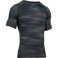 Under Armour Koszulka męska HeatGear Armour Printed czarna r. XXL (1257477-007). Szare koszulki sportowe męskie marki Under Armour, z elastanu, sportowe. Za 119,00 zł.