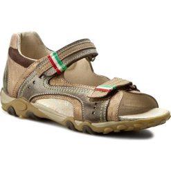 Sandały OBEX - 4054/02 Brązowy. Brązowe sandały męskie skórzane Obex. W wyprzedaży za 155,00 zł.
