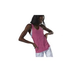 Topy na ramiączkach / T-shirty bez rękawów Reebok Sport  Top Running ACTIVCHILL. Czerwone topy sportowe damskie Reebok Sport, l. Za 139,00 zł.