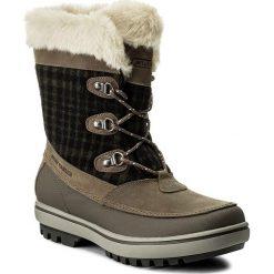 Buty zimowe damskie: Śniegowce HELLY HANSEN – W Georgina 112-88.885 Goose/Bungee Cord/Natura/Falcon/Black Gum