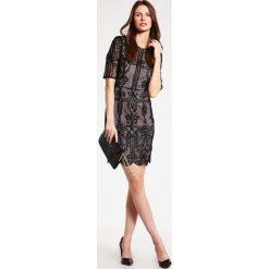 Sukienki hiszpanki: Reiss ZOLA Sukienka koktajlowa black/almond