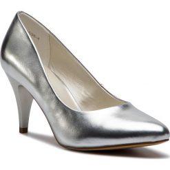 Półbuty JENNY FAIRY - W17SS536-4 Silver 1. Szare półbuty damskie skórzane Jenny Fairy, eleganckie, na obcasie. Za 89,99 zł.