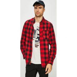 Produkt by Jack & Jones - Koszula. Szare koszule męskie na spinki marki PRODUKT by Jack & Jones, l, z bawełny, button down, z długim rękawem. Za 119,90 zł.