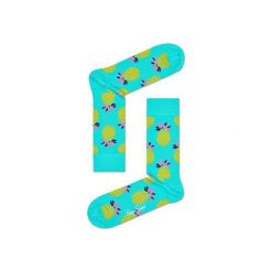 Skarpetki Happy Socks PIN01-7000. Brązowe skarpetki męskie marki NABAIJI, z elastanu. Za 24,43 zł.