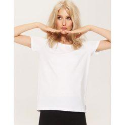 T-shirt basic - Biały. Białe t-shirty męskie marki House, l. Za 17,99 zł.