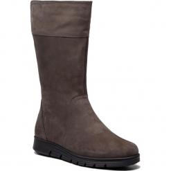 Kozaki CAPRICE - 9-26617-21 Dk Grey Nubuc 232. Szare buty zimowe damskie Caprice, z nubiku. W wyprzedaży za 289,00 zł.