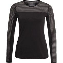 Röhnisch MIKO Bluzka z długim rękawem black. Czarne bluzki longsleeves Röhnisch, xs, z elastanu, sportowe. Za 169,00 zł.