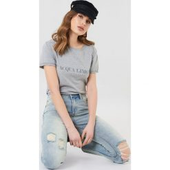 T-shirty męskie z nadrukiem: Acqua Limone T-shirt Classic – Grey