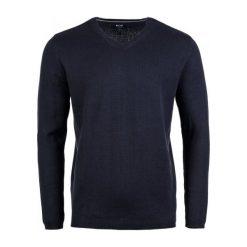 Swetry klasyczne męskie: Mustang Sweter Męski Xl Czarny