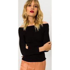 Swetry klasyczne damskie: IVY & OAK CARMEN JUMPER OFF SHOULDER Sweter black