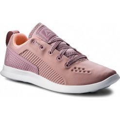 Buty Reebok - Evazure Dmx Lite CN4539 Lilac/Pink/White. Szare buty do fitnessu damskie marki Reebok, l, z dzianiny, z okrągłym kołnierzem. W wyprzedaży za 199,00 zł.