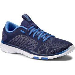Buty ASICS - Gel-Fit Tempo 3 S752N Indigo Blue/Silver/Regatta Blue 4993. Niebieskie buty do fitnessu damskie Asics, z materiału. W wyprzedaży za 229,00 zł.