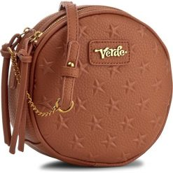 Torebka VERDE - 16-0004238 Camel. Brązowe torebki klasyczne damskie Verde. Za 99,00 zł.