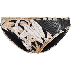 Bikini: MINKPINK TROPICAL PUNCH SPLICE BOTTOM Dół od bikini black/gold